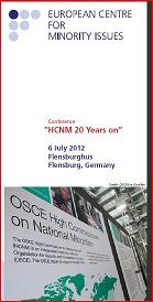 "Conference ""HCNM 20 Years On"""