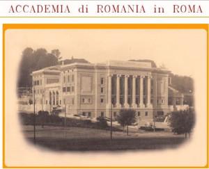 Accademia di Romania in Roma