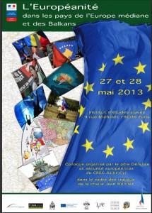 L'europeanitedans les pays d'Europe mediane et dans les Balkans