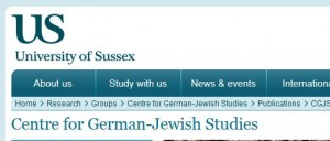 Centre for German Jewish Studies
