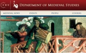 Department of Medieval Studies at CEU