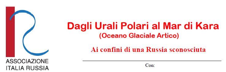 Conferenza Dagli Urali Polari al Mar di Kara