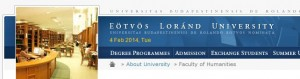 Center for Russian Studies' Doctoral Program at the Eotvös Loránd University