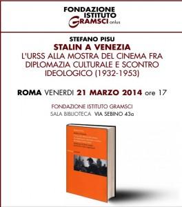 Presentazione Stalin a Venezia