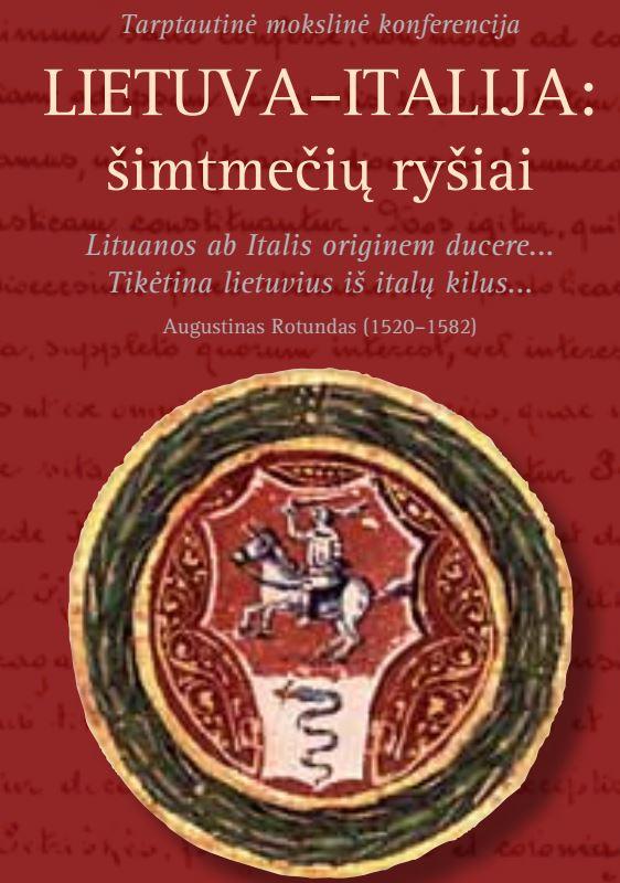 LITUANIA–ITALIA:  i legami secolari