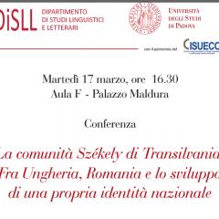La comunità Székely di Transilvania